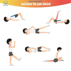 Exercises to improve the strength of your hip
