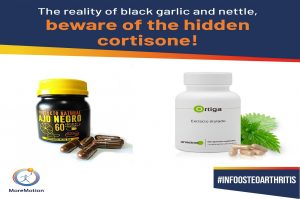 Miracle products, with hidden cortisone