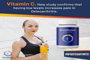 Low levels of Vitamin C increases the pain in Osteoarthritis