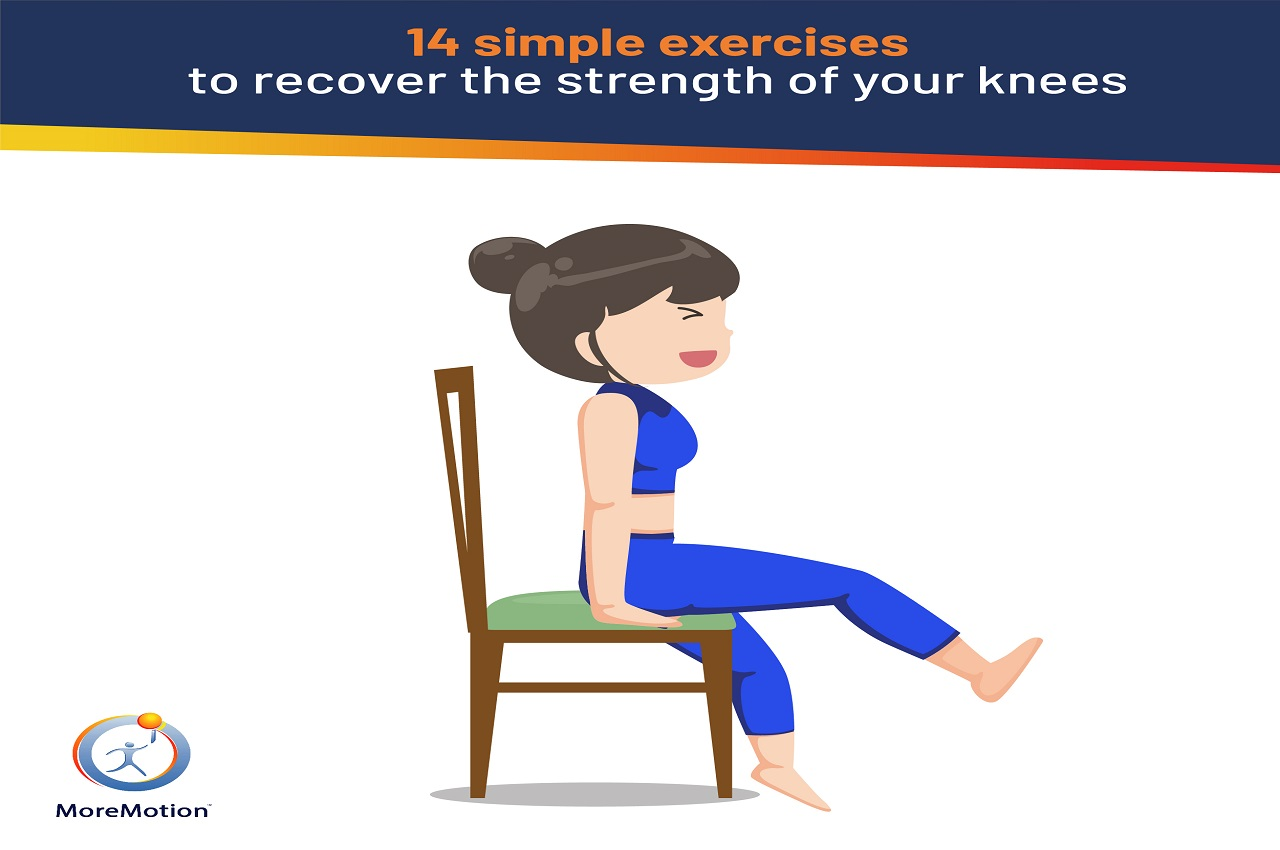 Exercises to recover strength in your knees